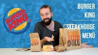 Burger King - Yemek Paket Servis İnceleme ve Yorumlar / Steakhouse Burger, Patates Kızartması, Fiya