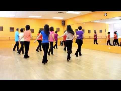 Badda Badda Swing - Line Dance (Dance & Teach in English & 中文)