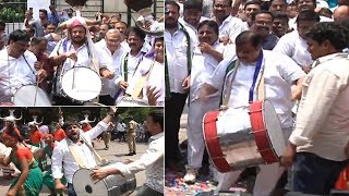 Celebrations@ YSRCP Party Office In Hyderabad: AP Election..
