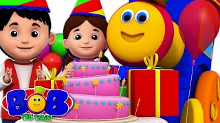 Happy Birthday Song | Bob The Train's Birthday Party | Nursery Rhymes And Party Songs