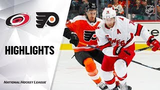 NHL Highlights | Hurricanes @ Flyers 11/05/19