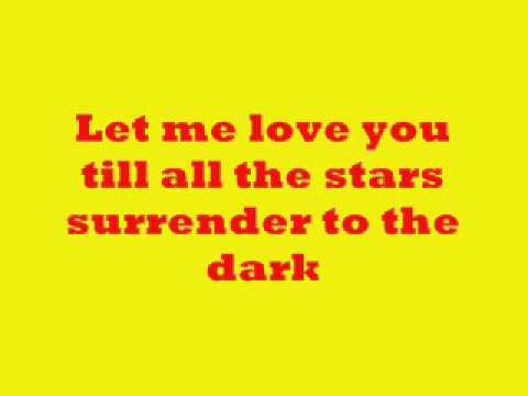 Let me love you (lyrics) Jed Madela