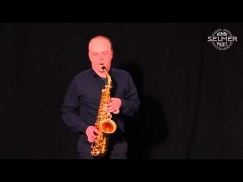 Henri SELMER Paris presents Vincent DAVID
