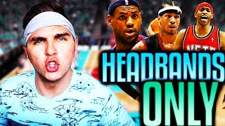 BEST HEADBAND WEARING PLAYERS IN NBA HISTORY! NBA 2K16 SQUAD BUILDER