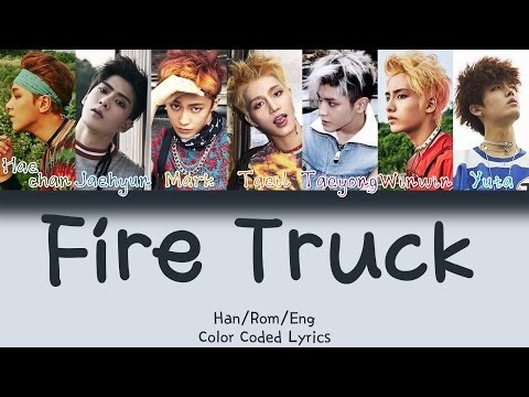 NCT 127 - Fire Truck (소방차) [HAN|ROM|ENG Color Coded Lyrics]