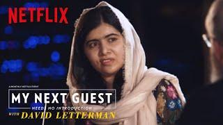 David and Malala Yousafzai Sound Off on Trump   My Next Guest Needs No Introduction   Netflix