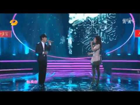 20140214 호남위성 원소희락회 EXO 첸 & 장리인 숨소리