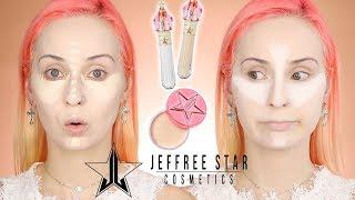 JEFFREE STAR Magic Star concealer + poudre   CRASH TEST