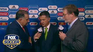 Mexico coach Osorio reacts to the draw   2017 FIFA Confederations Cup Draw