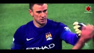 Joe Hart   Manchester City   Best Saves   2015 16 HD