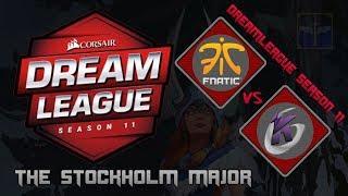 Fnatic vs Keen Gaming / Bo3 / DreamLeague Season 11 Stockholm Major  / Dota 2 Live
