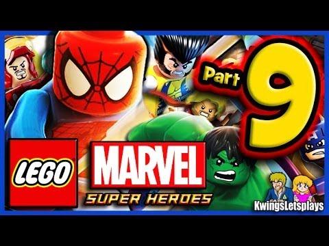 Lego marvel super heroes walkthrough part 9 fantastic four doom house