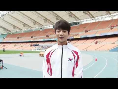 120726 Minho @ High Jump Practice Interview