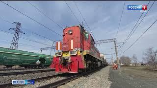 Из Омска отправился спецэшелон с железнодорожниками, которые будут заниматься реконструкцией Байкало-Амурской магистрали