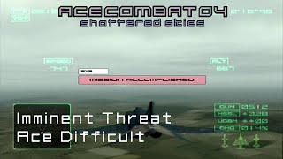 Mission 2: Imminent Threat (Ace Difficult) - Ace Combat 4 - 60 FPS