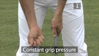 Golf: Swing Instead Of Hit