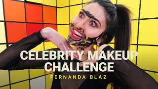 Celebrity Makeup Challenge ft. Fernanda Blaz 💋
