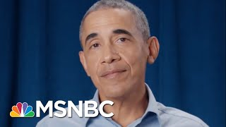 Barack Obama Responds To The Excuses People Give For Not Voting In New Ad | Craig Melvin | MSNBC