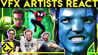 VFX Artists React to Bad & Great CGi 6