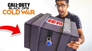 ACTIVISION sent a MYSTERY Package! (Black Ops Cold War Reveal)