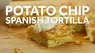 How to Make a Potato Chip Spanish Tortilla