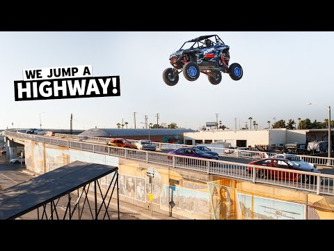 [HOONIGAN] Jump Cuts: SENDING IT in the Streets of Long Beach! In The New Polaris RZR Pro R