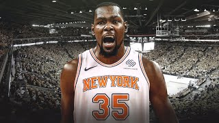 Kevin Durant IS GOING TO THE N.Y. Knicks?!!!