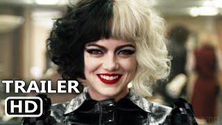 CRUELLA Trailer 2 (NEW, 2021) Emma Stone, Disney Movie