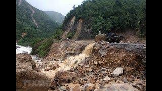 VTC14 | Sạt lở nghiêm trọng, Lào Cai – Lai Châu vẫn tiếp tục chia cắt