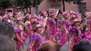 Los Pirulfos, desfile de 2018