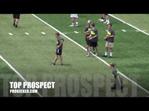 Zander Haley, Kickoffs, Ray Guy Prokicker.com Top Prospect Camp 2016