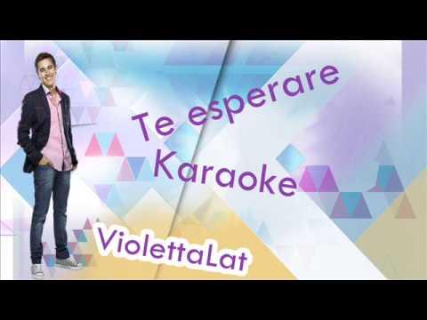 Baixar Violetta - Te esperare - Karaoke -  Violetta Disney