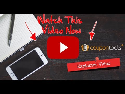 Videos Coupontools.com | 3 minute explainer video what Coupontools can do for you!