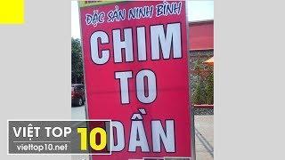 Top Những Tấm Biển Bá Đạo Chỉ Có Ở Việt Nam