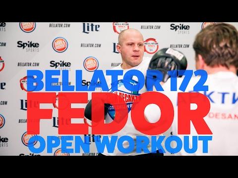 Bellator 172: Trening medialny Fedora Emelianenko i Matta Mitrione