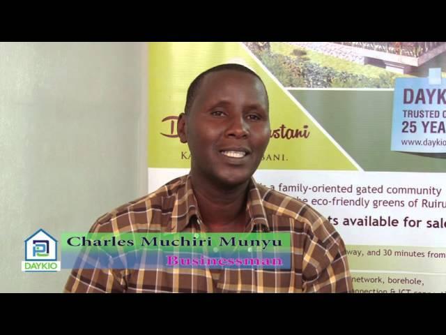 Client Testimonial – Charles Muchiri