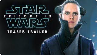 """Star Wars: Episode IX - Teaser Trailer #1 (2019) """"Remember"""" Daisy Ridley, Adam Driver Concept"""