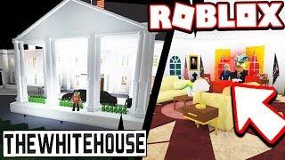 THE WHITE HOUSE *FULL* TOUR!!!   Subscriber Tours! (Roblox Bloxburg)