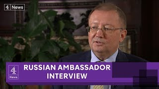 Russian Ambassador Alexander Yakovenko: Douma 'chemical attack' was 'staged'