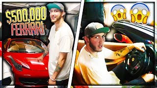 Surprising FaZe Banks with a NEW CAR (emotional)