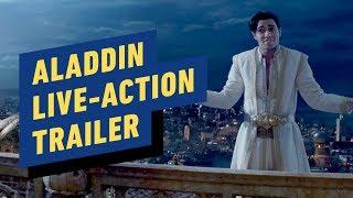Aladdin Trailer (2019) Will Smith, Naomi Scott, Mena Massoud