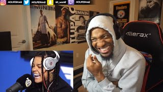 YOUNG M.A - FUNK FLEX FREESTYLE (REACTION!!!)