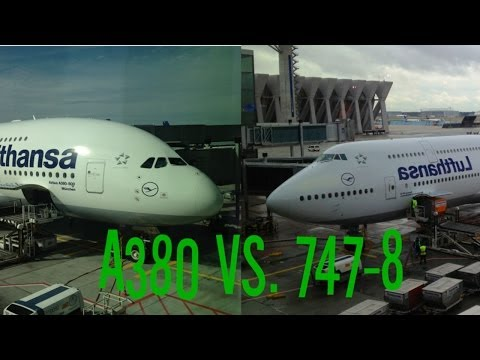 A380 Vs 747-8i - Lufthansa Economy Class Reviews And Comparison! - Smashpipe Travel Video