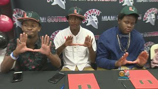 Hurricanes Do Very Well On First Ever Early Signing Day