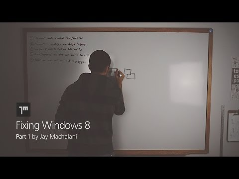 Fixing Windows 8 — jay machalani