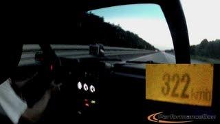 [VIDEO] Na auto-putu vozio Golfa dvojku 321km/h: Svi su ostali u čudu kako je proletio pored njih
