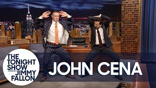"Jimmy Teaches John Cena Madonna's ""Girl Gone Wild"" Dance for His Wedding"