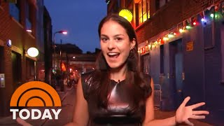 "'Donnadorable' Explores London Neighborhood Shoreditch With The Cast Of ""Mamma Mia!' 