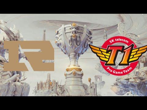 RNG vs SKT【S9世界总决赛】小组赛DAY2 World Championship 2019