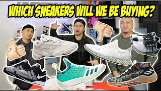 UPCOMING SNEAKERS - COP OR DROP?! ARE WE BACK ON ADIDAS?